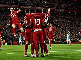 利物浦3-1曼城 萨拉赫破门利物浦3-1完胜曼城