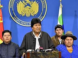 玻利维亚总统辞职 陷入选举舞弊争议