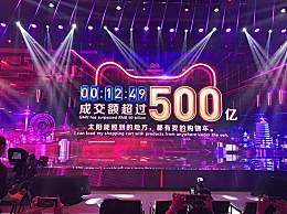 天猫769秒破500亿 一路高歌屡次刷新纪录