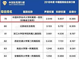 中国医院排行发布 中国医院排行完整榜单