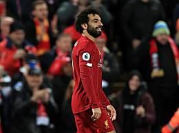 利物浦3-1曼城夺3连胜 萨拉赫马内进球法比尼奥轰入世界波