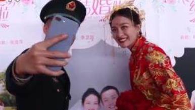 东风快递小哥脱单 116名火箭军集体结婚太温馨