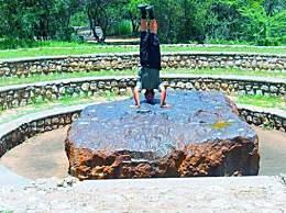 世界上最大陨石 霍巴陨石重达60吨