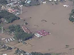台风海贝思致92死 多地洪水泛滥