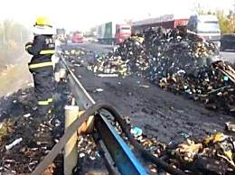 百事回应13吨包裹烧成灰 13吨快递全部阵亡