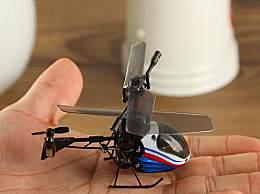 世界上最小的遥控飞机 麻雀虽小五脏俱全