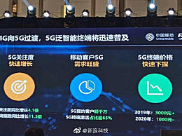 5G手机明年或降至千元以下 没买手机的有福了