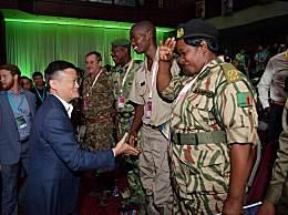 马云再度为非洲巡护员颁奖 保护地球应该是所有人的责任