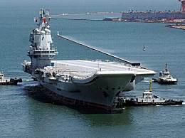 国产航母驶入台湾海峡 期间美、日均派出军舰在后尾随