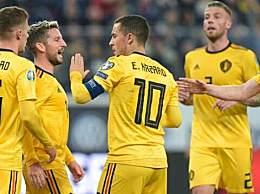 比利时4-1俄罗斯 欧预赛比利时对战俄罗斯赛事回顾