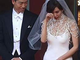 林志玲落泪告白老公 林志玲婚礼现场泪崩