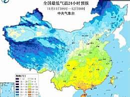 新一轮降温冻到发紫!全国大部分地区将出现大风降温天气
