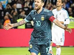 梅西再现1v5神技 阿根廷2-2乌拉圭梅西再现神作成焦点