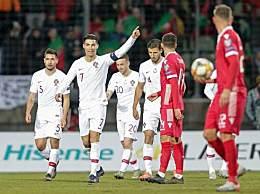 C罗国家队99球 30岁后状态不降反升
