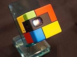 世界上最小的投影机 魔方大小仅22.8克