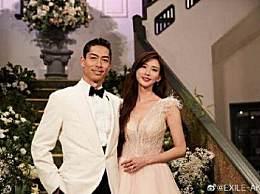 林志玲老公致谢 黑泽良平晒婚礼照片秀恩爱