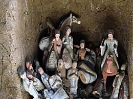 甘肃发现王族墓葬 墓志首载