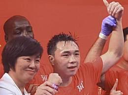 徐灿卫冕金腰带 获羽量级世界拳王