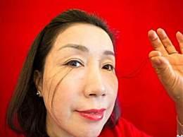世界上最长的眼睫毛 女子逆天睫毛长达12.4厘米