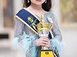 泰国女童选美冠军 穿高跟鞋浓妆艳抹丧失孩子童真