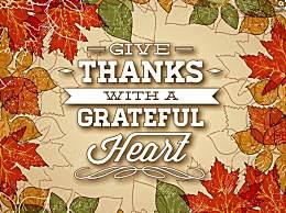 感恩节英语祝福语应该怎么写?感恩节英语祝福语句子