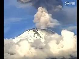 墨西哥火山喷发是怎么回事?墨西哥火山喷发原因