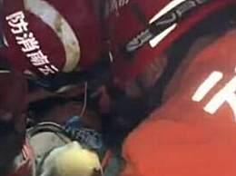 云南高速隧道口事故 现场13名作业人员被困