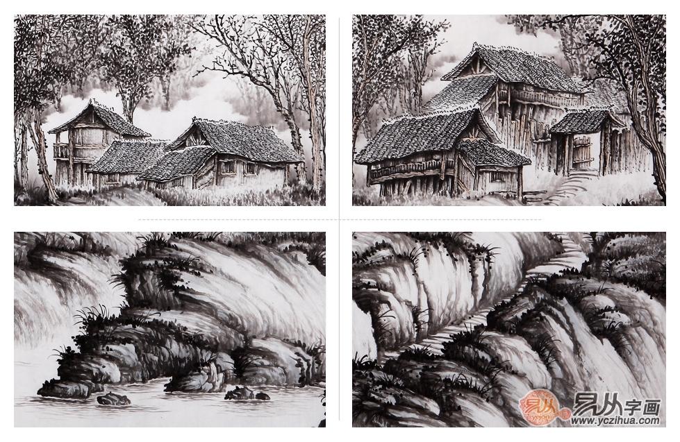 品茗名人山水画独有的艺术之美――吴大恺《何如此老山中住》