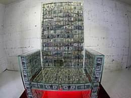 俄艺术家土豪专座 百万美金拼的椅子太壕了