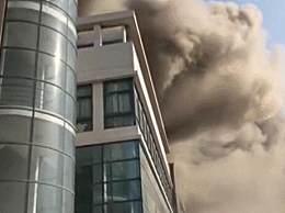 南通大学食堂着火 没有人员受伤