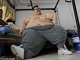 世界上最胖的人 最重时体重1190斤
