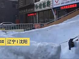 幼��@人工造雪建冰雪滑道 �I造雪�C花了4�f