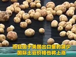 美国面临薯条短缺 国际土豆价格也将上涨