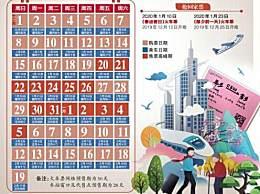 2020春运购票日历是怎么回事 今年春运有哪些新变化