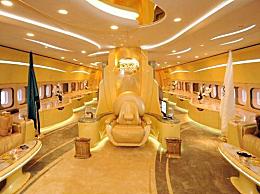 世界上最贵的飞私人飞机 金碧辉煌堪称奢华