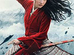 刘亦菲主演电影花木兰什么时候上映?花木兰海报图公布