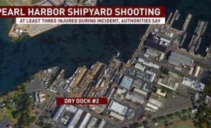 珍珠港造船厂枪案怎么回事?现场全面封锁