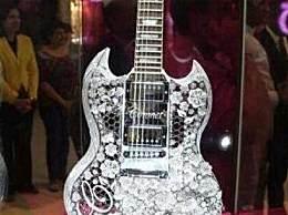 世界上最贵的吉他 拍出280万美金天价