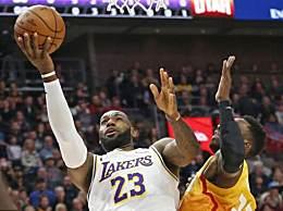詹姆斯生涯总得分 NBA历史第三人脱帽致敬