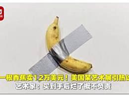 一根香蕉卖12万美元 胶带香蕉的意义是什么
