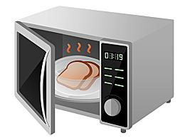铁饭盒可以放微波炉吗