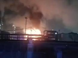 抚顺石油二厂起火 具体起火原因正在调查中