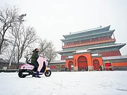 北京最美雪景出炉 引众多市民争先打卡留念