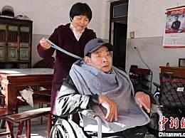浙江農婦照顧癱瘓丈夫19年 因為愛從不言苦