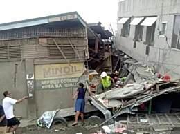 菲律宾6.9级地震 已造成4死14伤