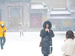 北京暴雪蓝色预警 北京今年第二场雪来临