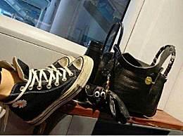 王子文高铁踩桌板 网友扒出王子文鞋子疑是假货