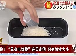 日本单身电饭煲热销 只有饭盒大小,一个人也要好好吃饭