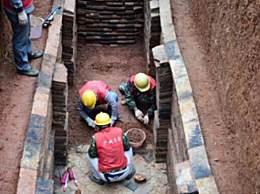 广州横枝岗古墓 清理60座汉至清代墓葬
