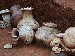 广州横枝岗古墓哪个朝代的 广州横枝岗古墓出土大量文物